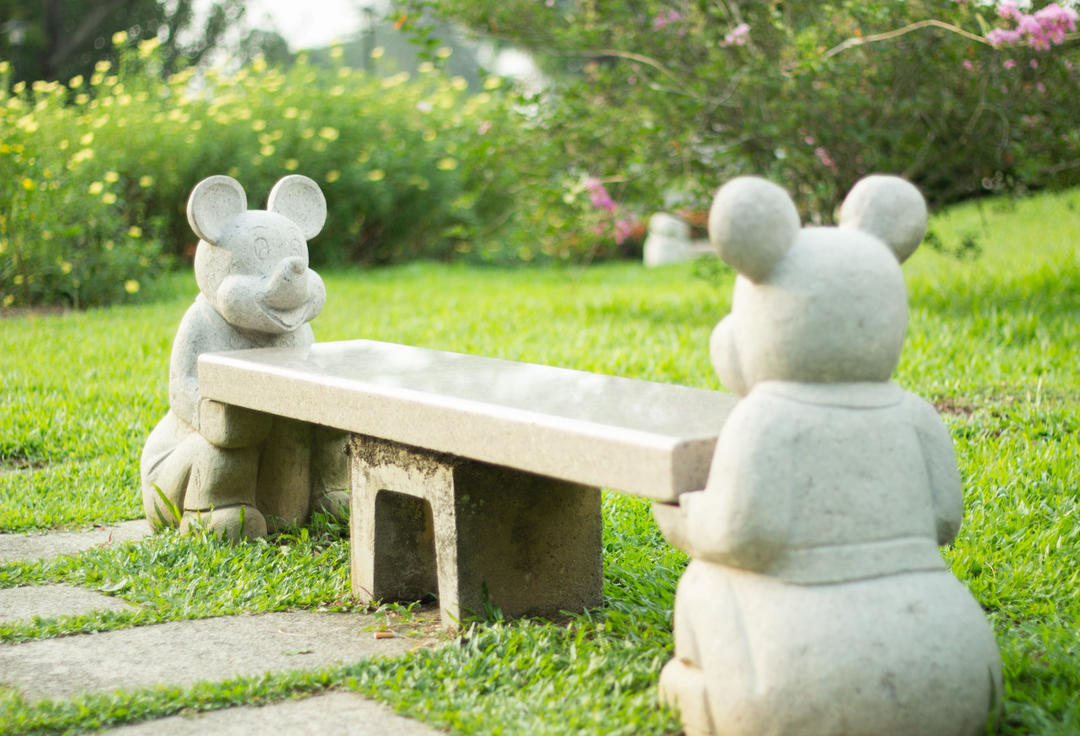 mouse bench